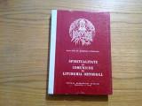 SPIRITUALITATE SI COMUNIUNE IN LITURGHIA ORTODOXA - Dumitru Staniloae - 1986, Alta editura