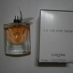 PARFUM TESTER 75ML LANCOME LA VIE EST BELLE - Parfum barbati