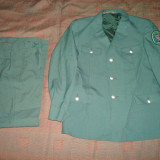Uniforma militara germana contemporana de politie, Veston si pantalon/colectie