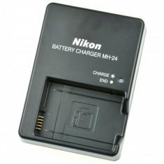 Incarcator Nikon MH-24 pt acumulator EN-EL14 DSLR D3100 D3200 D3300 D5100 P7000
