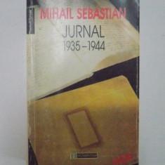 JURNAL 1935-1944 de MIHAIL SEBASTIAN, 1996 - Roman, Humanitas