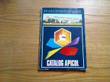 CATALOG APICOL  - V. Harnaj -  Asociatia Crescatorilor de Albine - 1976, 141 p., Alta editura