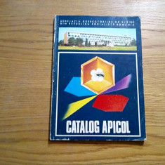 CATALOG APICOL - V. Harnaj - Asociatia Crescatorilor de Albine - 1976, 141 p. - Carti Zootehnie