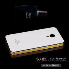 HUSA MEIZU MX4 - Husa Telefon Meizu, Universala, Auriu, Fara snur, Carcasa