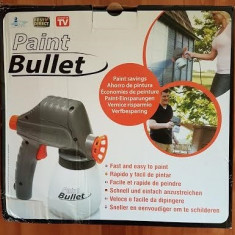 Pistol cu jet pentru vopsit si zugravit Paint Bullet - Pistol de vopsit