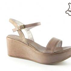 Sandale dama piele naturala Xena E115/42, Marime: 37, 39, 40