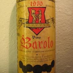 BAROLO, riserva 1970, doc, cl 72, gr 13 recolatare 1970 - Vinde Colectie, Aroma: Sec, Sortiment: Rosu, Zona: Europa