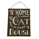 Placuta decor perete Cat