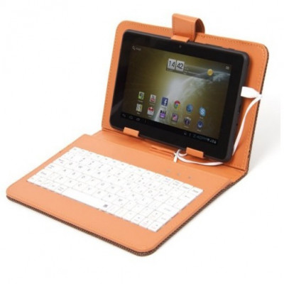 Husa cu tastatura pentru tableta 7 inch Omega foto