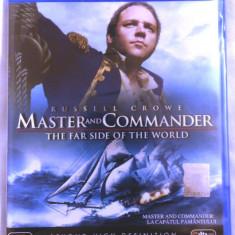 MASTER AND COMMANDER: LA CAPĂTUL PĂMÂNTULUI [2003] (BLU-RAY ORIGINAL, SIGILAT, RO) - Film thriller, Romana