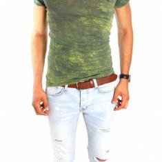 Tricou tip ZARA - tricou barbati - tricou slim fit - tricou fashion - 6624P5, Marime: S/M, M/L, Culoare: Din imagine, Maneca scurta