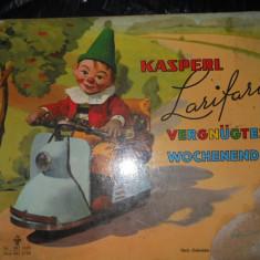 KASPERL LARIFARIS - COMPLET CARTONATA - CARTE COPII IN LIMBA GERMANA - Carte in germana