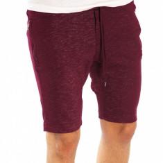 Pantaloni de trening scurti tip ZARA grena  - pantaloni barbati 6615