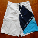 Pantaloni scurti Quiksilver; marime M, vezi dimensiuni exacte;impecabili, ca noi - Bermude barbati, Marime: M, Culoare: Din imagine