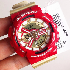 CASIO G-SHOCK GA 110, Red Gold Edition !!! - Ceas barbatesc