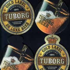5 suporturi pahare Tuborg - Bere