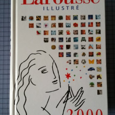 Dictionar Le Petit Larousse Illustre, dictionnaire en couleurs, Paris 2000 - Dictionar ilustrat Altele