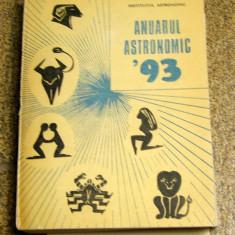Anuarul astronomic 1993(1028)