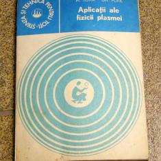 Aplicatii ale fizice plasmei - M.Toma(1046) - Carte Fizica
