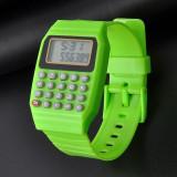 Ceas verde, ceas cu calculator, ceas nou, ceas unisex - Ceas led