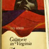YVES BERGER - Calatorie in Virginia (1722)