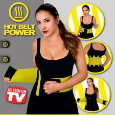 Centura Brau de slabit din neopren cu arici Hot Shopers - Echipament Fitness, Costum fitness