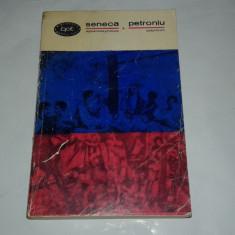 SENECA PETRONIU - APOKOLOKYNTOSIS SATYRICON - Roman, Anul publicarii: 1967