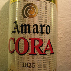 Amaro cora, dal 1835, cl.100 gr. 26 ani 60 - Lichior