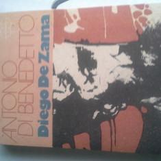 DIEGO DE ZAMMA DE ANTONIO DI BENEDETTO 1988, 288PAG CA NOU - Carte Literatura Spaniola