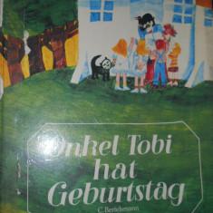 ONKEL TOBI HAT GEBURTSTAG - HANS G.LENZEN - CARTE COPII IN LIMBA GERMANA - Carte in germana