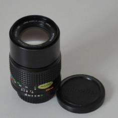 Obiectiv Minolta MD 135mm 1:3.5 + capace - Transport gratuit prin posta! - Obiectiv DSLR, Tele, Manual focus
