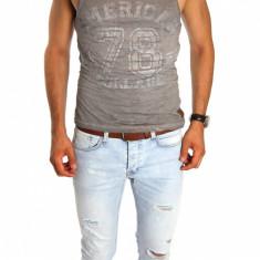 Maieu tip ZARA - maieu barbati - maieu slim fit - maieu fashion - cod 6660