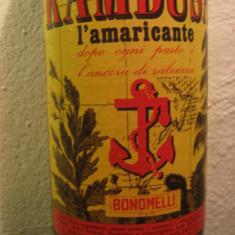 Kambusa l'amaricante, bonomelli, cl.75 gr. 32 ani 60 - Lichior