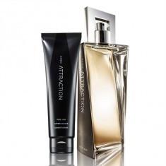Parfum Attraction Avon de barbati+1mostra cadou - Parfum barbati Avon, Apa de toaleta, 50 ml