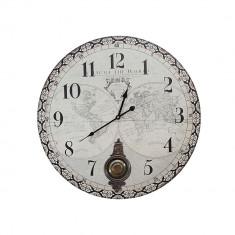 Ceas de perete cu pendul Atlas 60 cm
