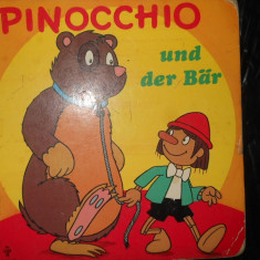 PINOCCHIO UND DER BAR - COMPLET CARTONATA - CARTE COPII IN LIMBA GERMANA - Carte in germana