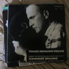 Vinil yehudi menuhin - Muzica Clasica Altele