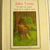 JULES VERNE - UN BILET DE LOTERIE / FARUL DE LA CAPATUL LUMII(1612)