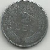 ROMANIA 2 LEI 1941 [6] Livrare in cartonas - Moneda Romania, Zinc