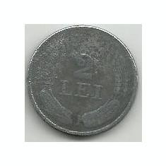 ROMANIA 2 LEI 1941 [6] Livrare in cartonas - Moneda Romania, Zinc