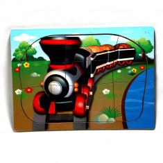 Puzzle din lemn - Tren