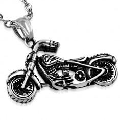 Pandantiv inox motocicleta