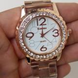 Kanima, ceas kanima dama, ceas fashion auriu - Ceas dama, Elegant, Otel, Analog