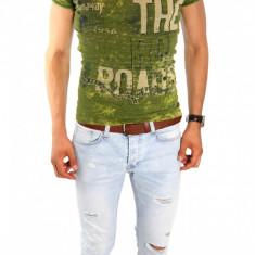 Tricou - tricou barbati - tricou slim fit - tricou fashion - 6633P5-1, Marime: S, L, XL, Culoare: Din imagine, Maneca scurta