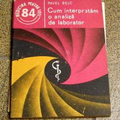 Pavel Belc - Cum interpretam o analiza de laborator(1068)