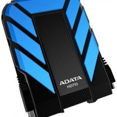 HDD extern Adata DashDrive HD710 1TB USB3 albastru, rezistent la apa si socuri - Hard Disk