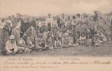 SALUTARI DIN ROMANIA , TIPURI DIN DOBROGEA , CLASICA , CIRCULATA 1903, Printata