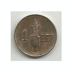 ROMANIA CAROL II 1 LEU 1938 [10] VF, livrare in cartonas - Moneda Romania, Alama
