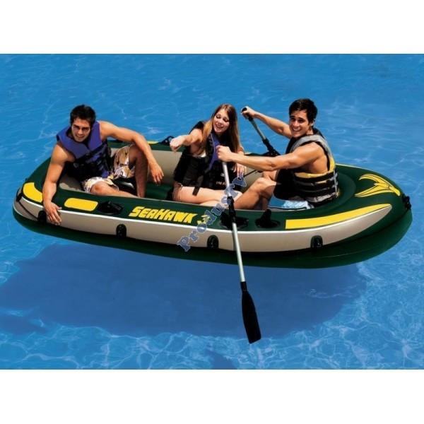 Barca pneumatica gonflabila Seahawk III 3 persoane Intex 68349