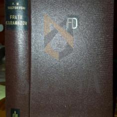 F. M. DOSTOIEVSKI - FRATII KARAMAZOV ( EDITIE BIBLIOFILA PE FOITA DE TIGARETA), 1965 - Carte in engleza